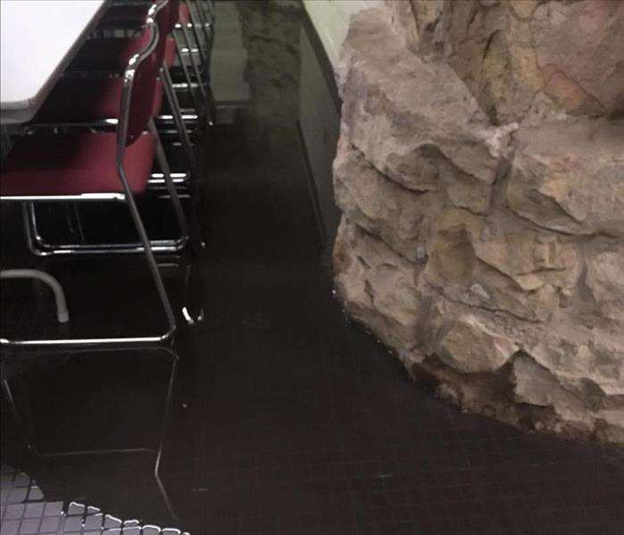 Water Main Freeze Floods Commercial Property Before