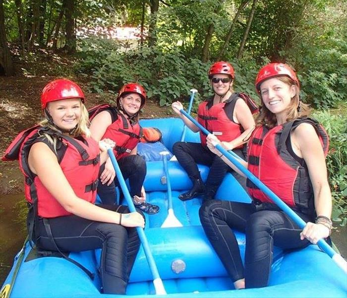 SERVPRO's River Rafting Adventure