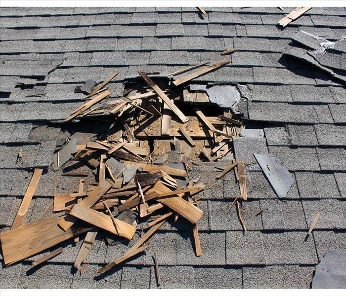 Why SERVPRO What Is Roof Damage Mitigation?