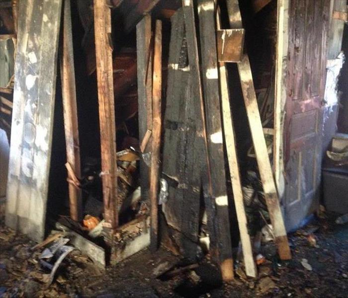 Fire Damage Attic Fire Damage in Altoona