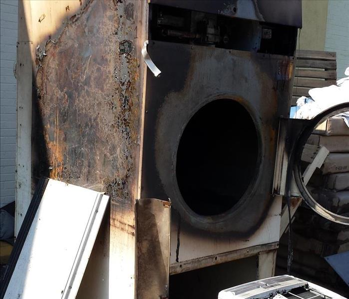 Fire Damage Dryer Fire Safety